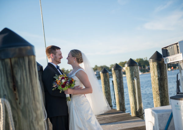 Anna Cliff Wedding Maryland Yacht Club Pasadena